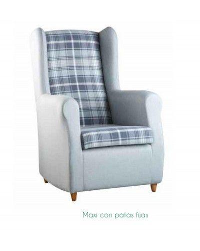 Sillon moderno tapizado 46-maxi