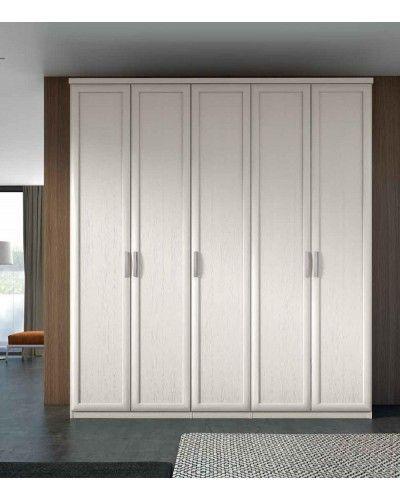 Armario 5 puertas Batientes matrimonio clasico 508-PA40