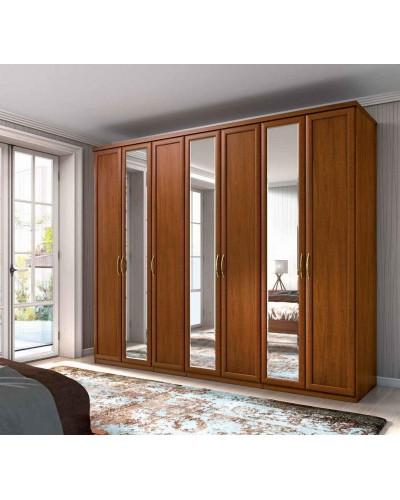 Armario 7 puertas Batientes matrimonio clasico 508-PA43