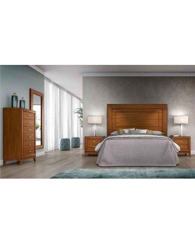 Dormitorio matrimonio clasico diseño actual 508-PA09