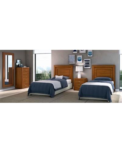 Dormitorio matrimonio clasico diseño actual 508-PA11