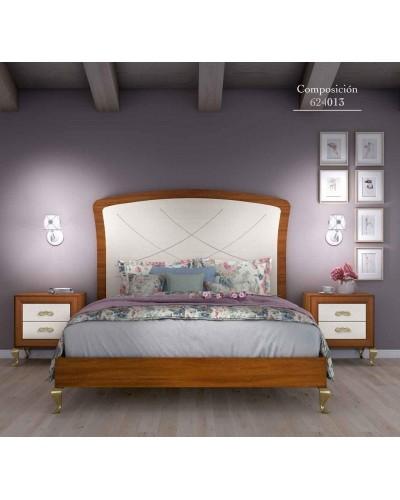 Dormitorio matrimonio clasico diseño actual 508-PA13