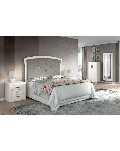 Dormitorio matrimonio clasico diseño actual 508-PA14