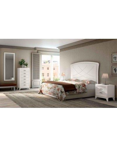 Dormitorio matrimonio clasico diseño actual 508-PA15