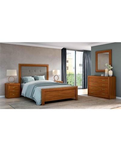Dormitorio matrimonio clasico diseño actual 508-PA16