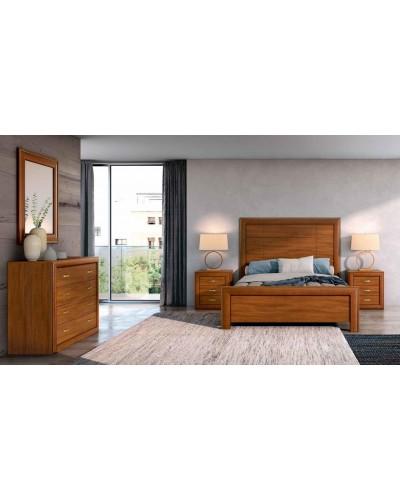 Dormitorio matrimonio clasico diseño actual 508-PA17