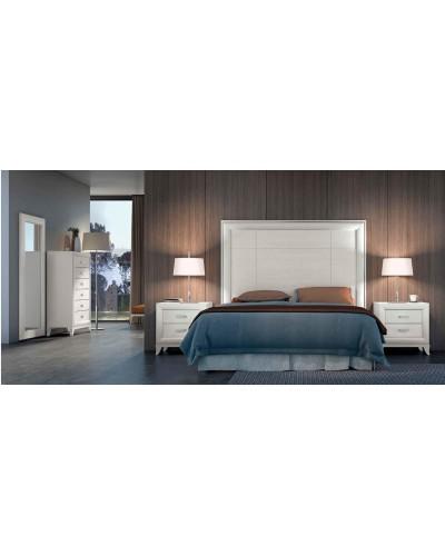 Dormitorio matrimonio clasico diseño actual 508-PA18