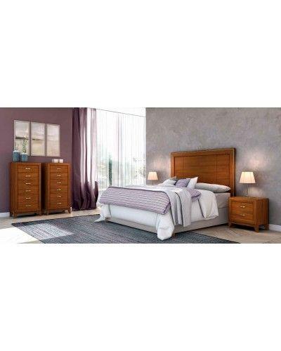 Dormitorio matrimonio clasico diseño actual 508-PA19