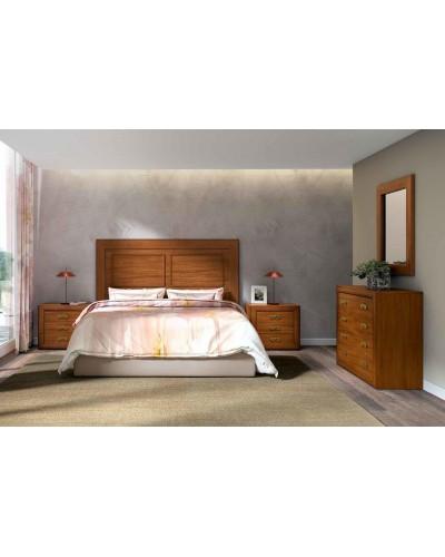 Dormitorio matrimonio clasico diseño actual 508-PA25