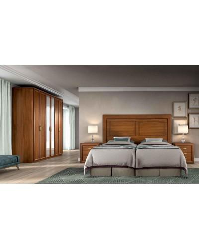 Dormitorio matrimonio clasico diseño actual 508-PA27
