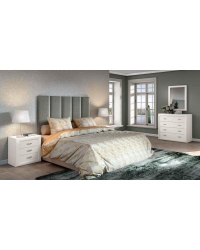 Dormitorio matrimonio clasico diseño actual 508-PA29