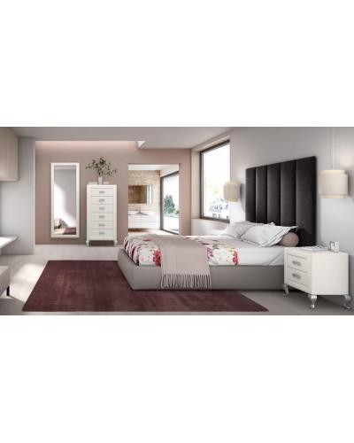 Dormitorio matrimonio clasico diseño actual 508-PA30