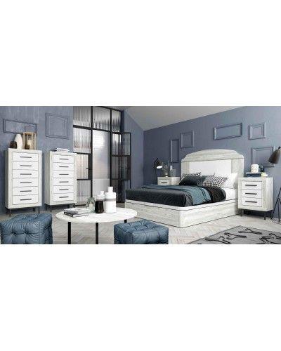Dormitorio matrimonio moderno vintage colonial 60-JOR411