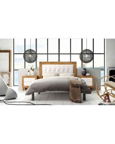 Dormitorio matrimonio moderno vintage colonial 60-JOR416
