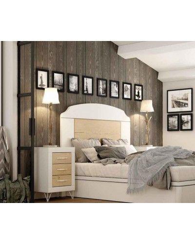 Dormitorio matrimonio moderno vintage colonial 60-JOR417