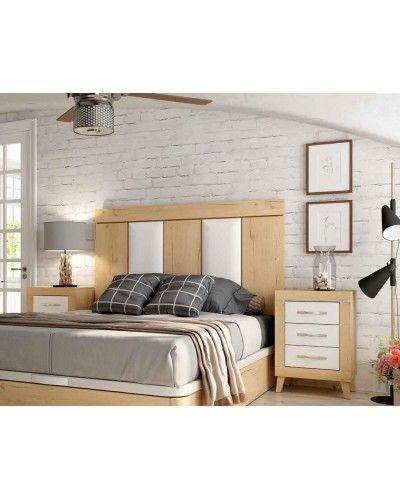 Dormitorio matrimonio moderno vintage colonial 60-JOR420