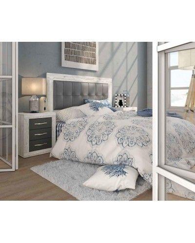 Dormitorio matrimonio moderno vintage colonial 60-JOR425