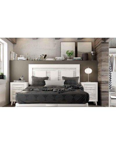 Dormitorio matrimonio moderno vintage colonial 60-JOR429