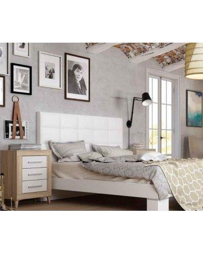 Dormitorio matrimonio moderno vintage colonial 60-JOR431