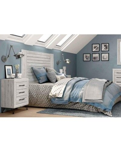 Dormitorio matrimonio moderno vintage colonial 60-JOR432