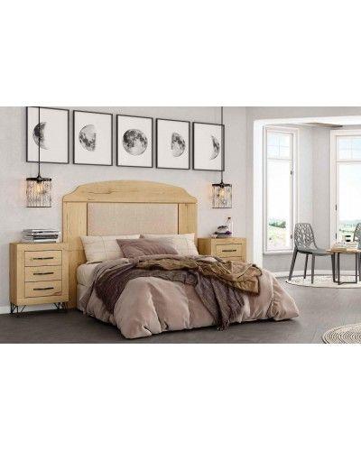 Dormitorio matrimonio moderno vintage colonial 60-JOR435