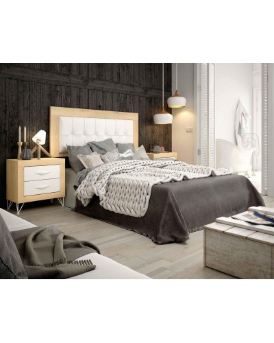 Dormitorio matrimonio moderno vintage colonial 60-JOR436