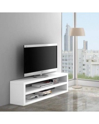 Mesa TV moderna lacado blanco 962-504