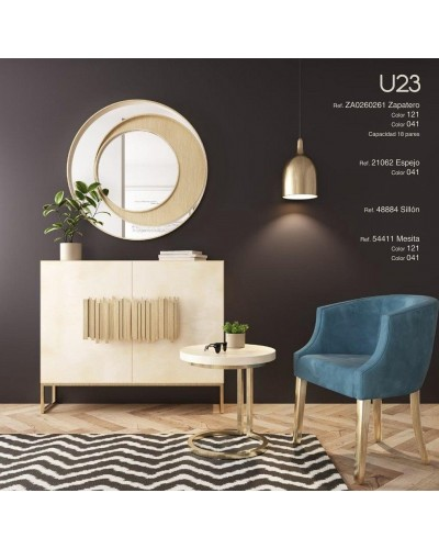 Mueble zapatero moderno lacado alta calidad 397-UN23