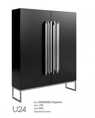 Mueble zapatero moderno lacado alta calidad 397-UN24