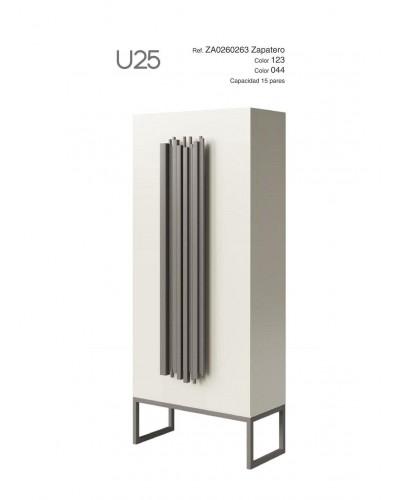 Mueble zapatero moderno lacado alta calidad 397-UN25