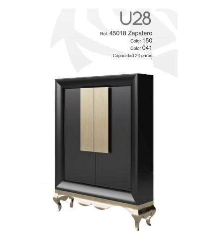 Mueble zapatero moderno lacado alta calidad 397-UN28