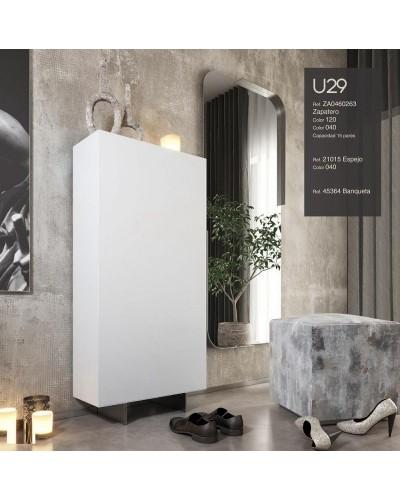 Mueble zapatero moderno lacado alta calidad 397-UN29