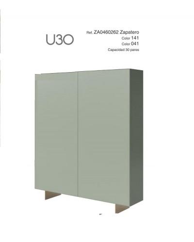 Mueble zapatero moderno lacado alta calidad 397-UN30