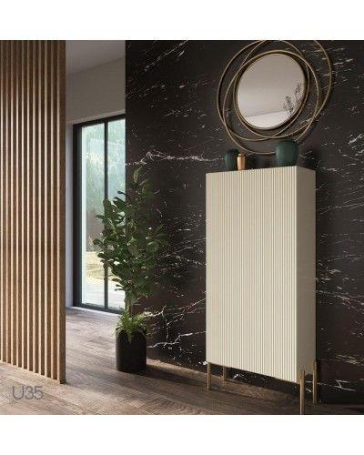 Mueble zapatero moderno lacado alta calidad 397-UN35