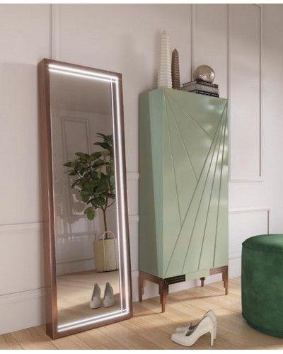 Mueble zapatero moderno lacado alta calidad 397-UN42