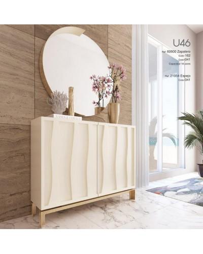 Mueble zapatero moderno lacado alta calidad 397-UN46
