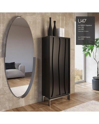 Mueble zapatero moderno lacado alta calidad 397-UN47