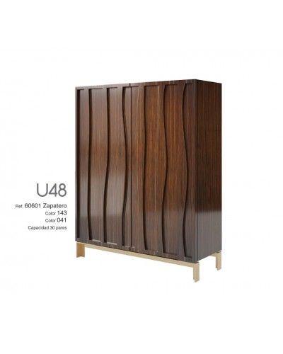 Mueble zapatero moderno lacado alta calidad 397-UN48