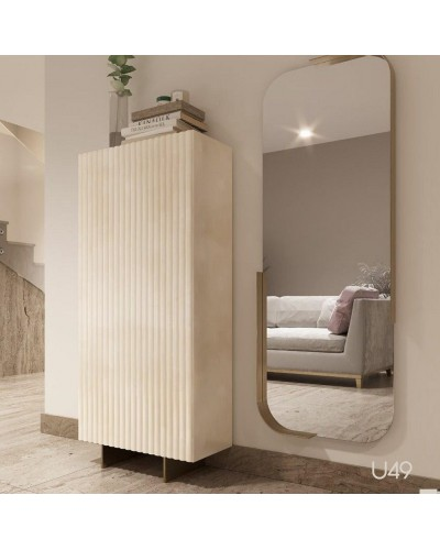 Mueble zapatero moderno lacado alta calidad 397-UN49