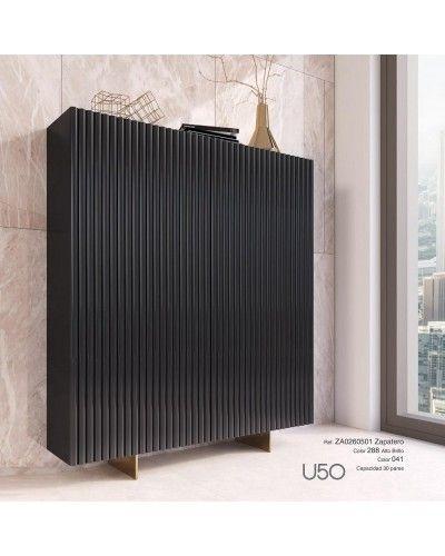 Mueble zapatero moderno lacado alta calidad 397-UN50