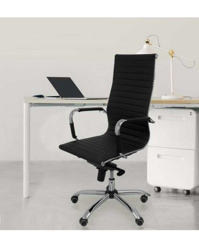 Silla oficina ruedas moderna diseño 1081-06
