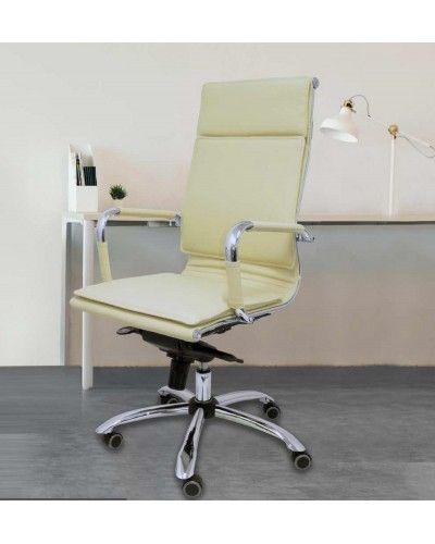 Silla oficina ruedas moderna diseño 1081-08