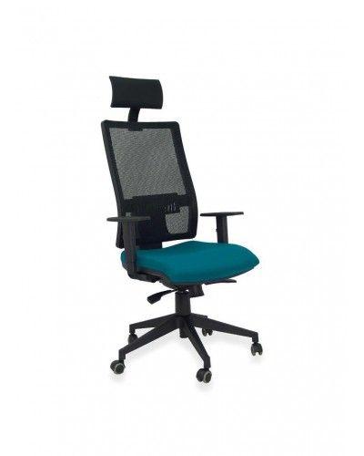 Silla oficina ruedas moderna diseño 1081-17