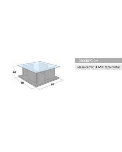 Mesa  centro moderna diseño 162-IR442