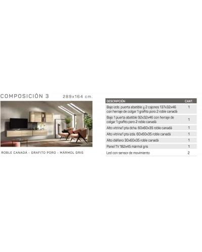 Mueble comedor moderno diseño 162-IR03