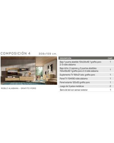 Mueble comedor moderno diseño 162-IR04
