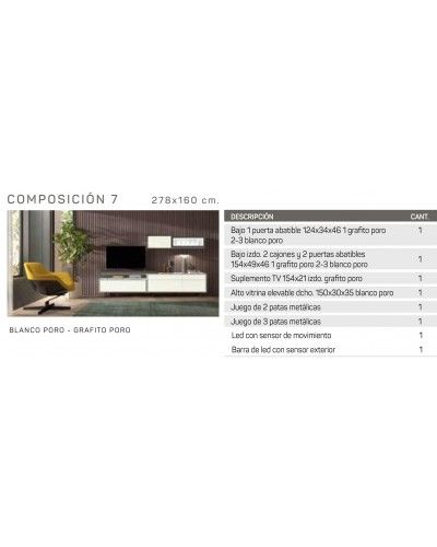 Mueble comedor moderno diseño 162-IR07