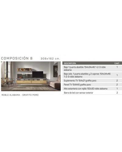 Mueble comedor moderno diseño 162-IR08