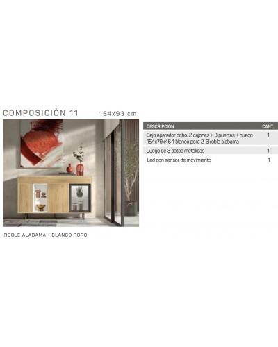 Mueble aparador comedor moderno diseño 162-IR11