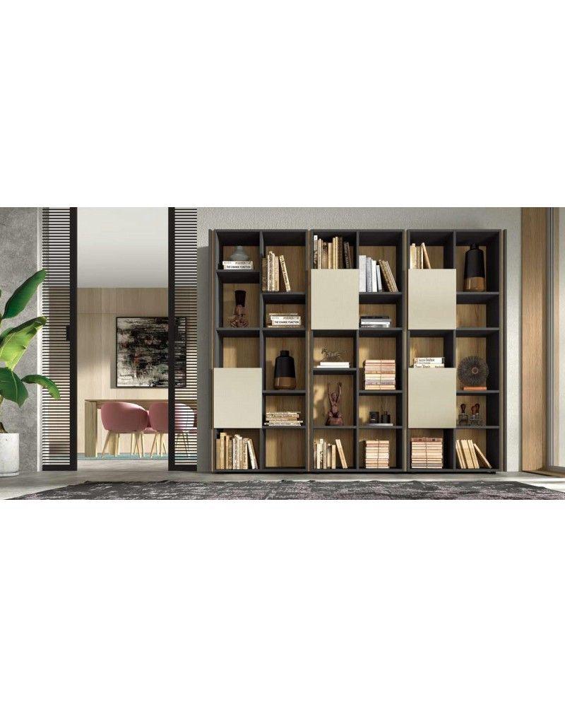 Mueble libreria comedor moderno diseño 162-IR30